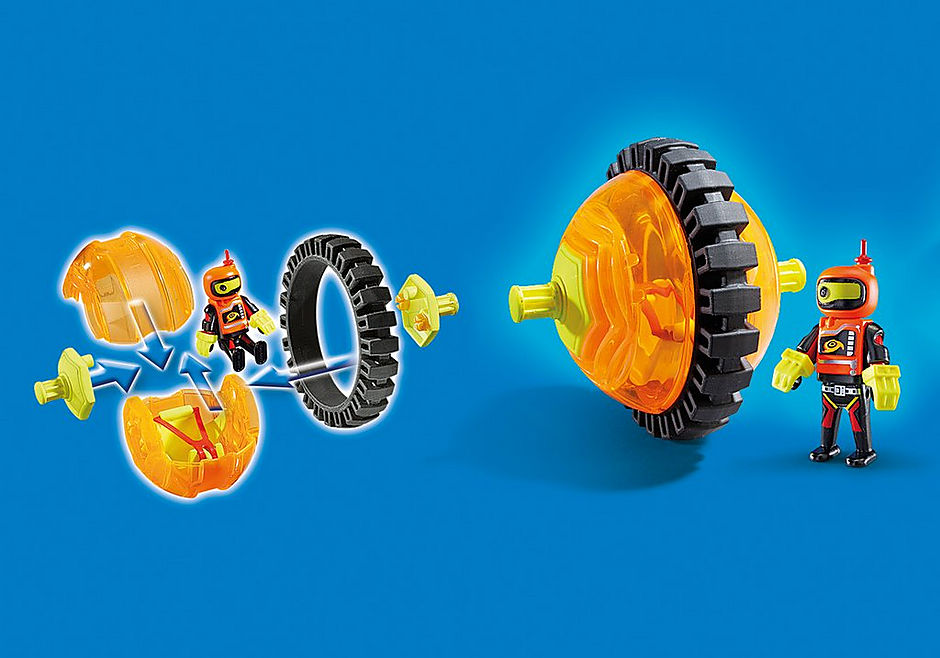 9203 Orange Roller Racer detail image 6