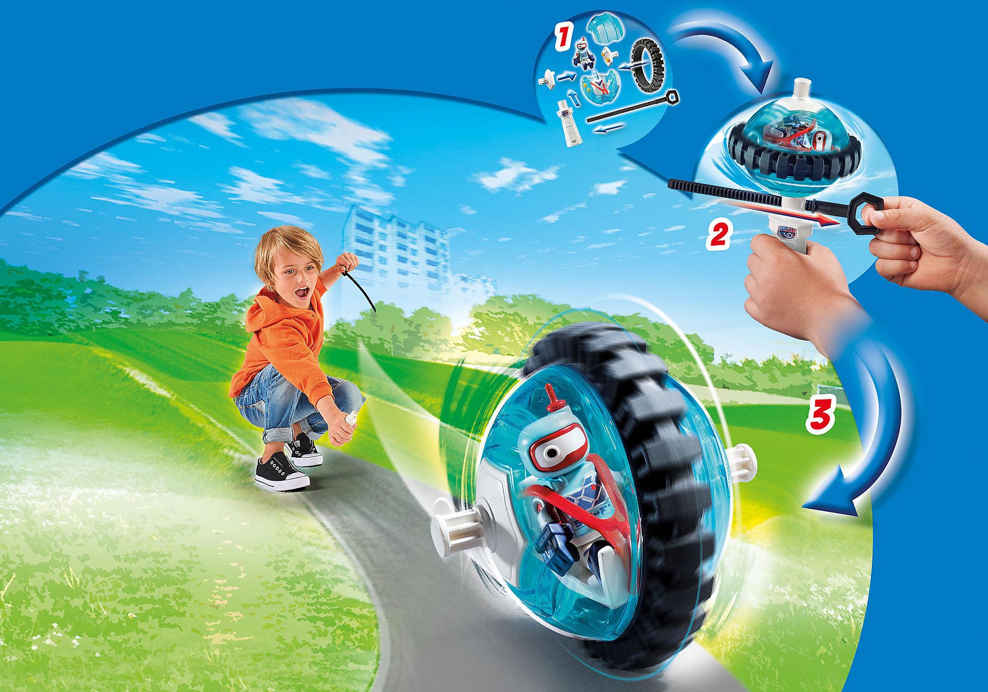 9204 Monobike blauw zoom image5