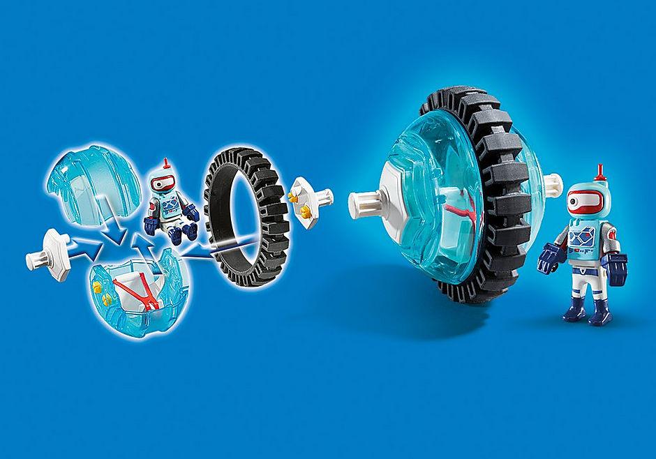 9204 Monobike blauw detail image 6
