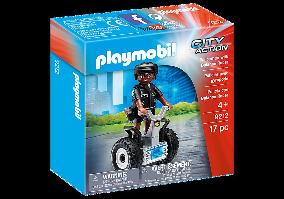 9212 Policeman with Balance Racer detail image 2