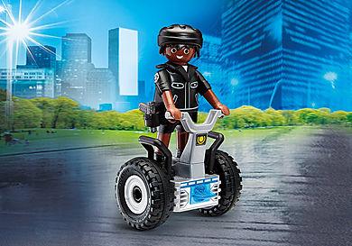 9212 Policeman with Balance Racer