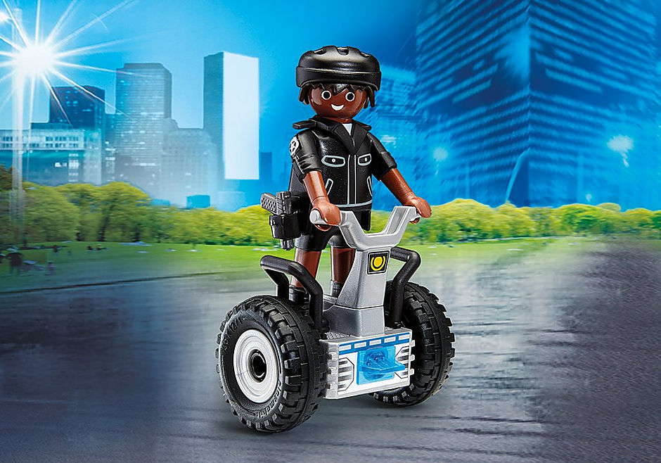 9212 Policeman with Balance Racer detail image 1