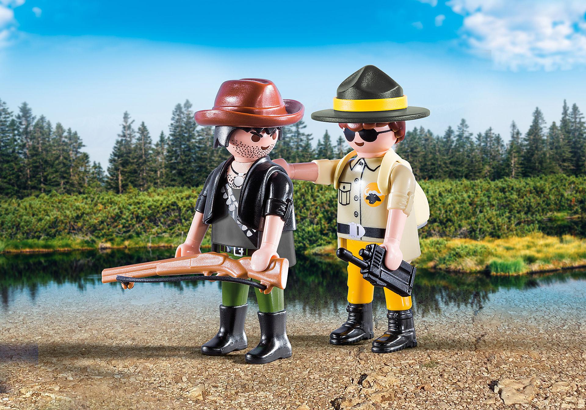 http://media.playmobil.com/i/playmobil/9217_product_detail/Ranger and Hunter