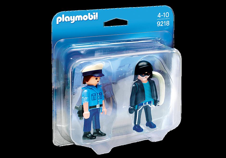 9218 PLAYMOBIL DuoPack Policier et voleur detail image 3