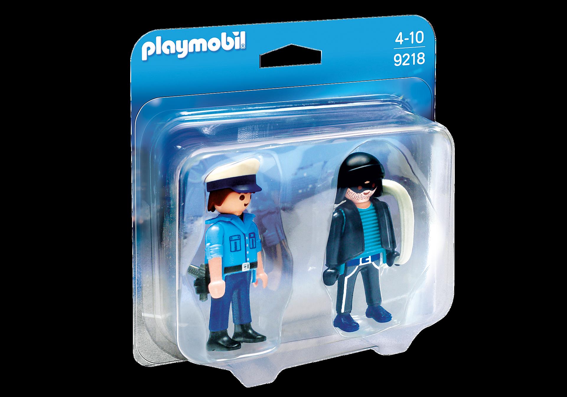 9218 PLAYMOBIL DuoPack Policier et voleur zoom image3