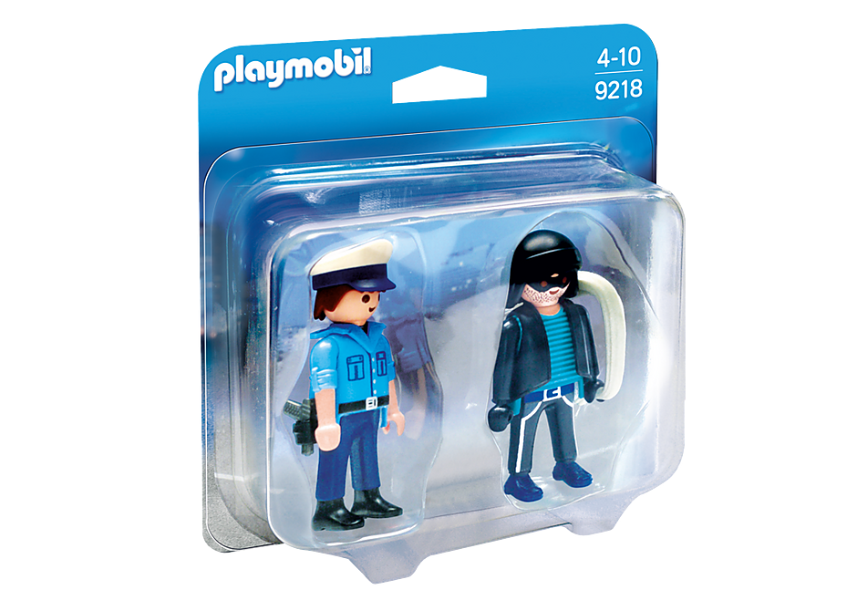 9218 Policeman and Burglar detail image 3