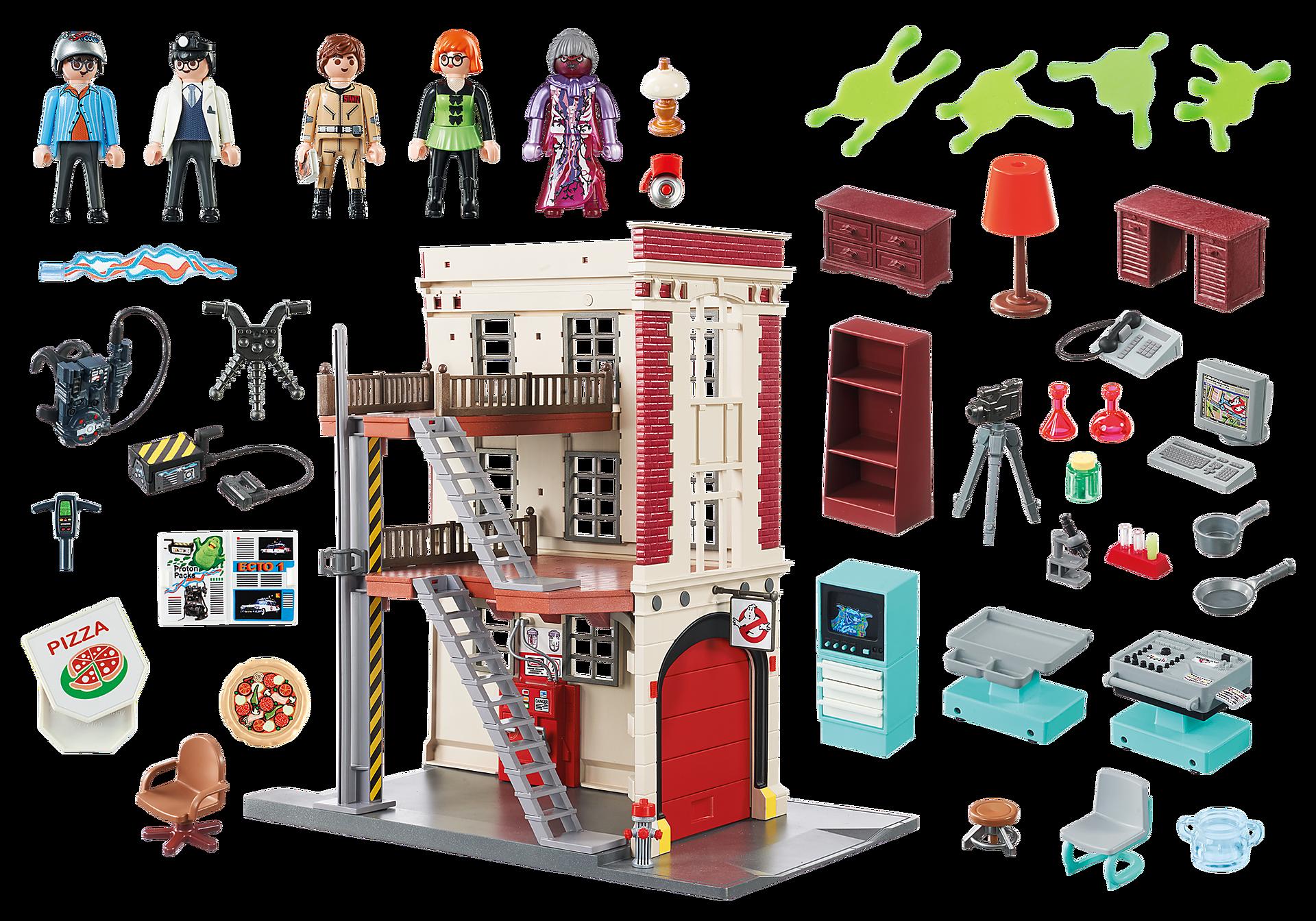 9219 Cuartel Parque de Bomberos Ghostbusters™ zoom image5
