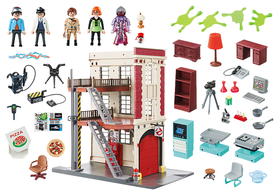 9219 Ghostbusters™ Firehouse detail image 5