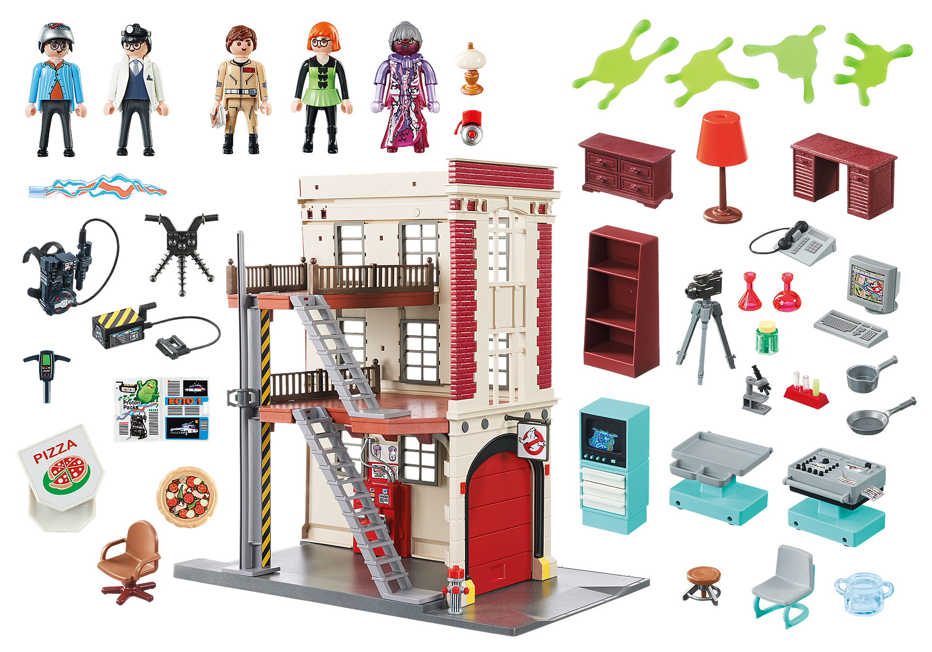 9219 Ghostbusters™ Firehouse zoom image5