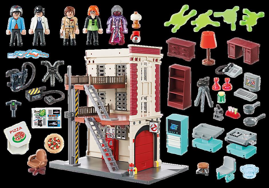 9219 Quartier Général Ghostbusters detail image 5