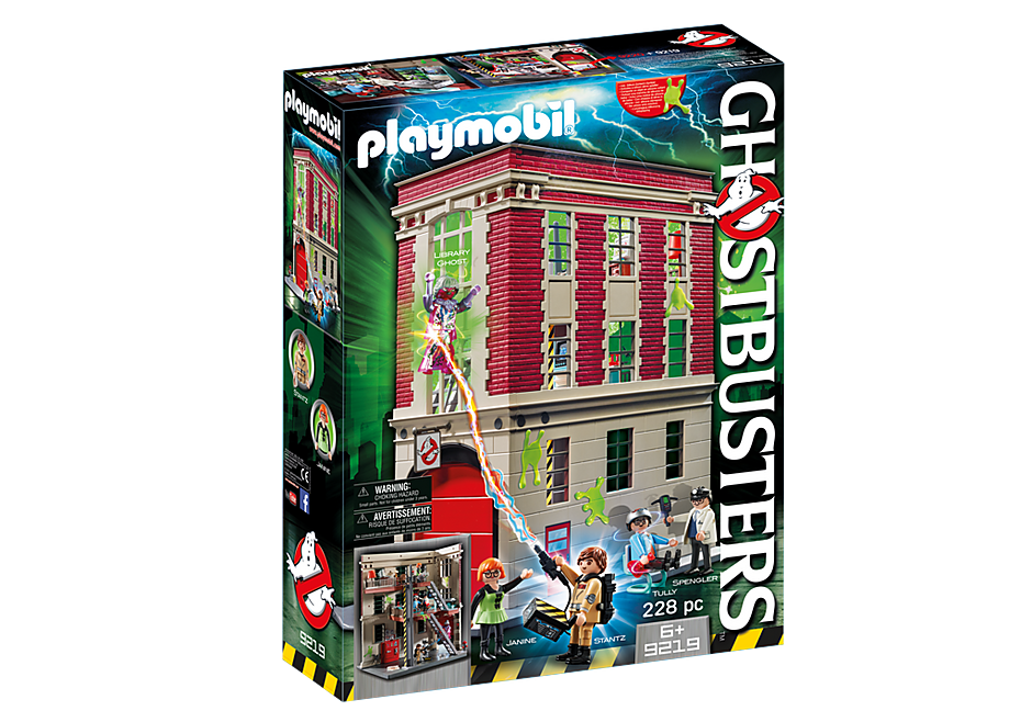 9219 Quartier Général Ghostbusters detail image 4
