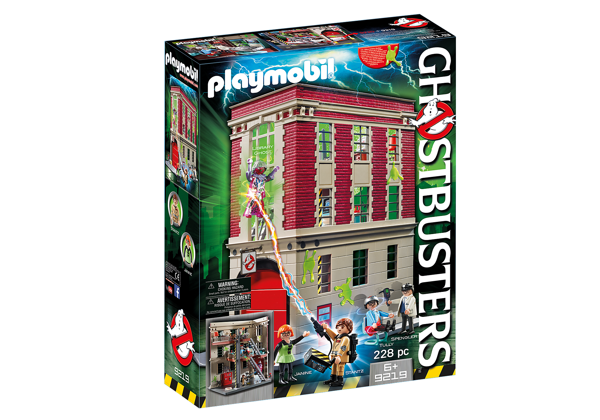 9219 Quartier Général Ghostbusters zoom image4