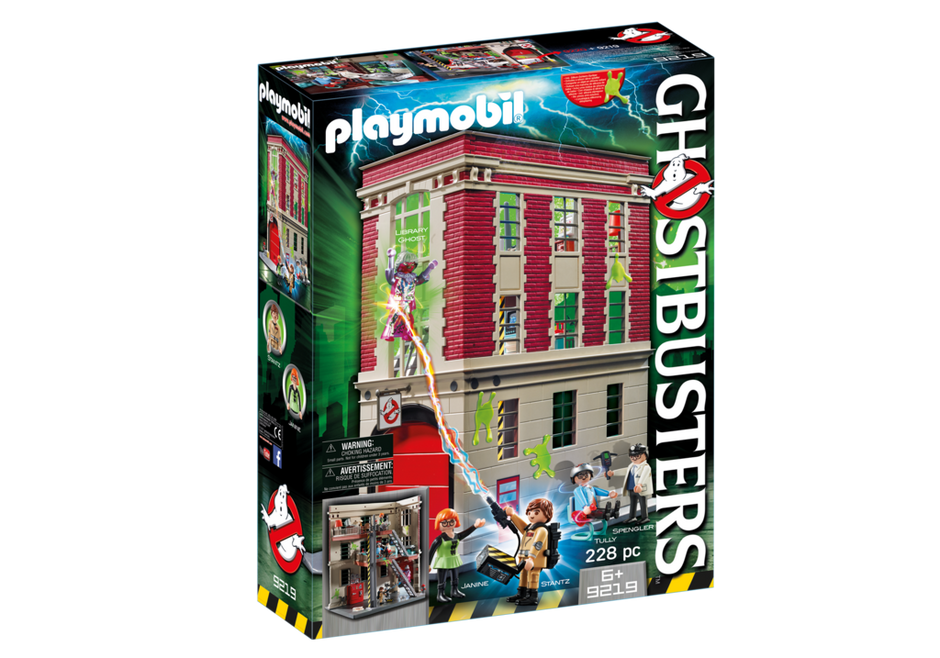 Ghostbusters Firehouse 9219 Playmobil Usa