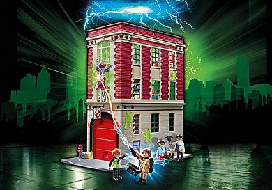 9219 Ghostbusters Brandweerkazerne