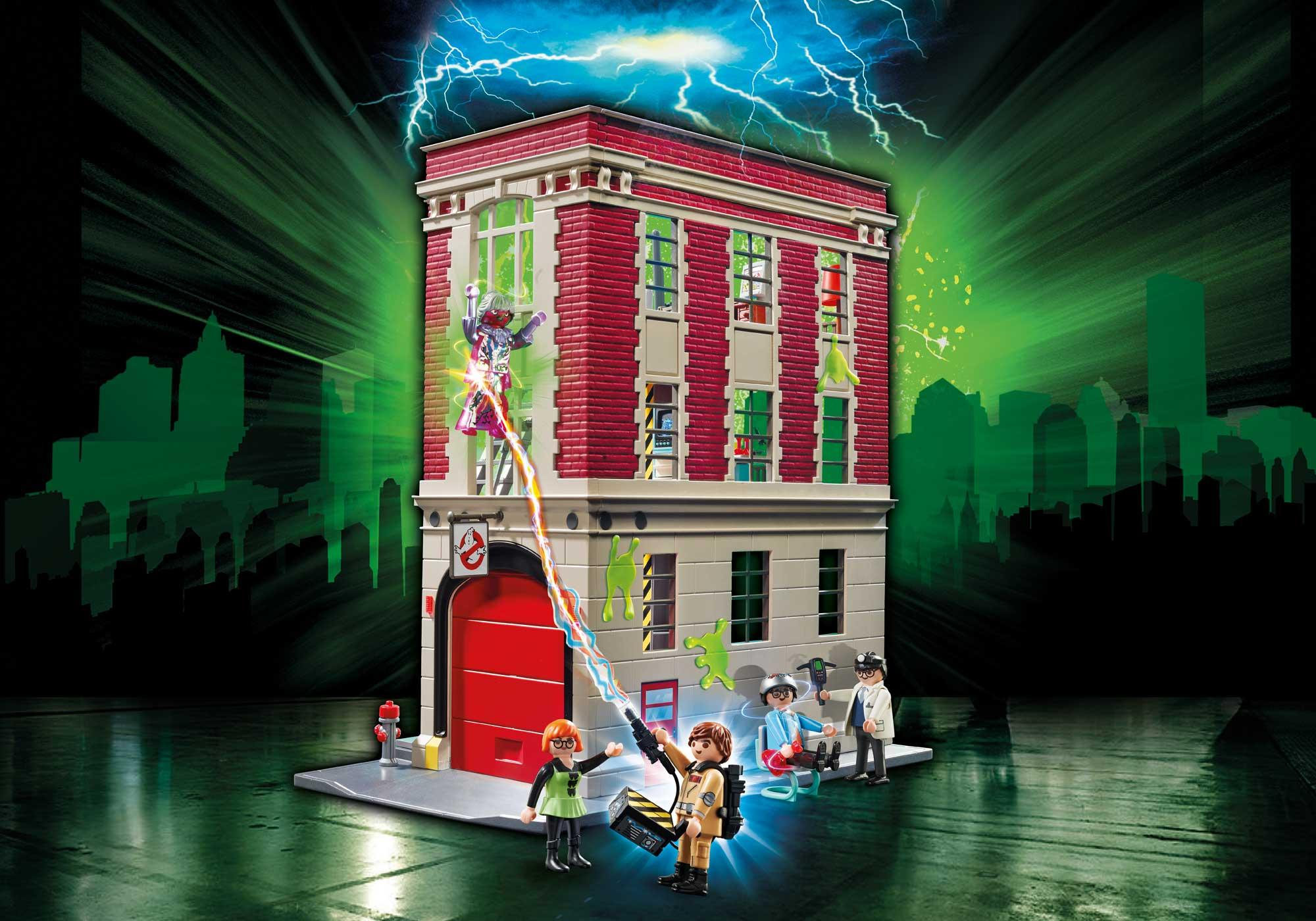 http://media.playmobil.com/i/playmobil/9219_product_detail/Ghostbusters™ Firehouse