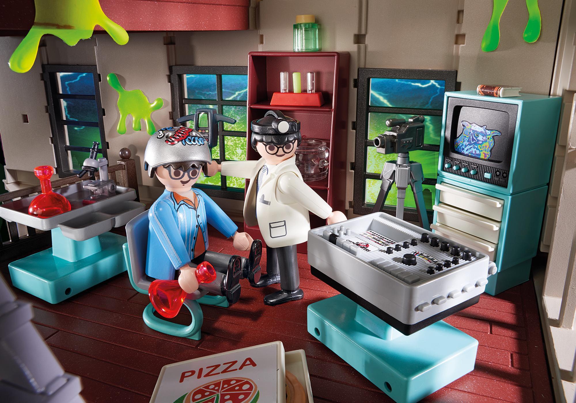 http://media.playmobil.com/i/playmobil/9219_product_extra1/Quartel de Bombeiros Ghostbusters™