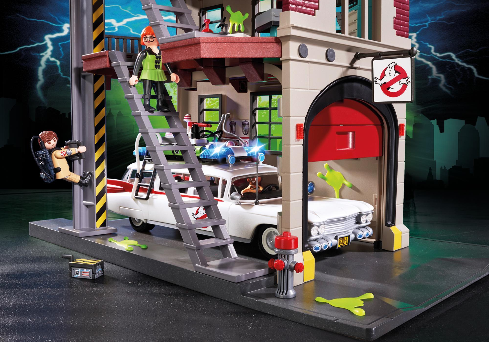 http://media.playmobil.com/i/playmobil/9219_product_extra2/Quartel de Bombeiros Ghostbusters™