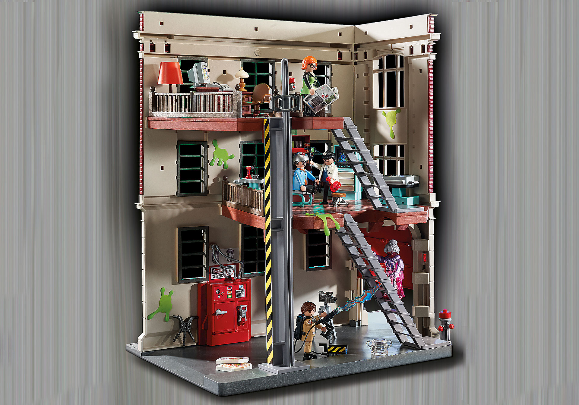 http://media.playmobil.com/i/playmobil/9219_product_extra5/Ghostbusters™ Feuerwache