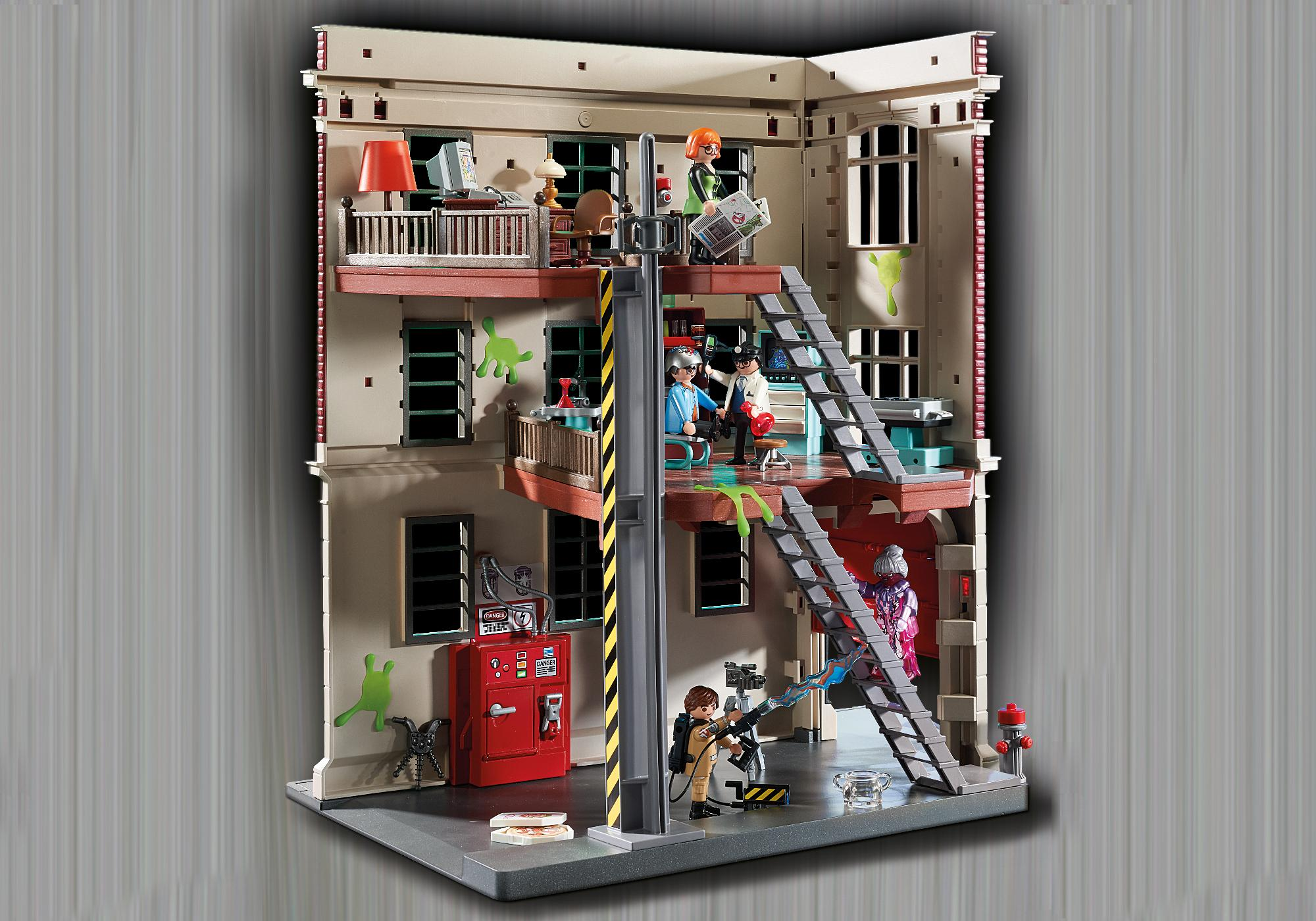 http://media.playmobil.com/i/playmobil/9219_product_extra5/Ghostbusters™ Firehouse