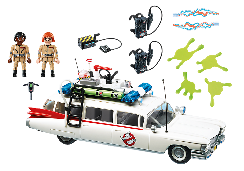 9220 Ecto-1 Ghostbusters detail image 4