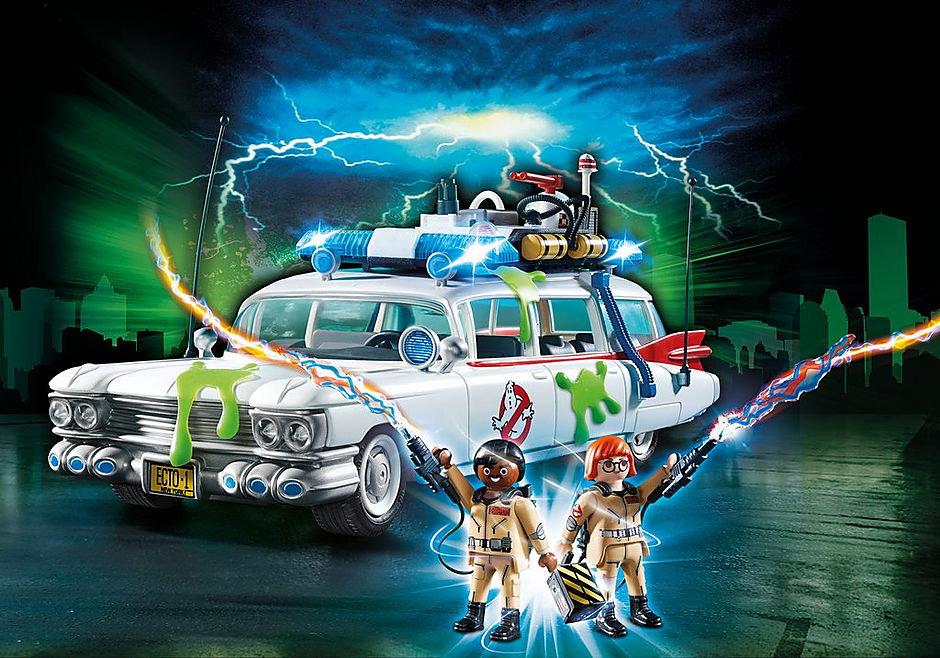 9220 Ecto-1 Ghostbusters detail image 1