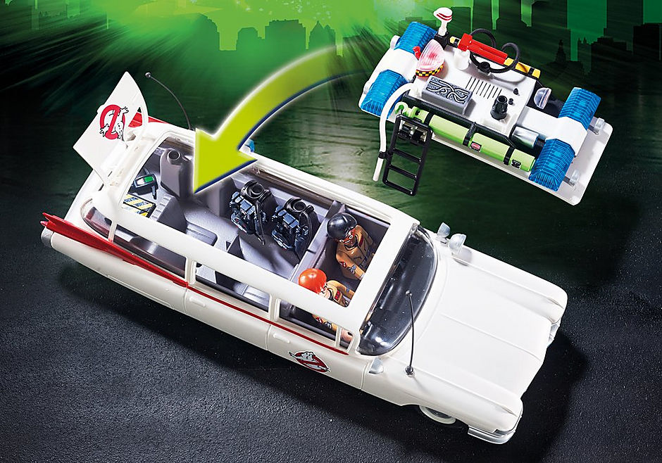 9220 Ecto-1 Ghostbusters detail image 6