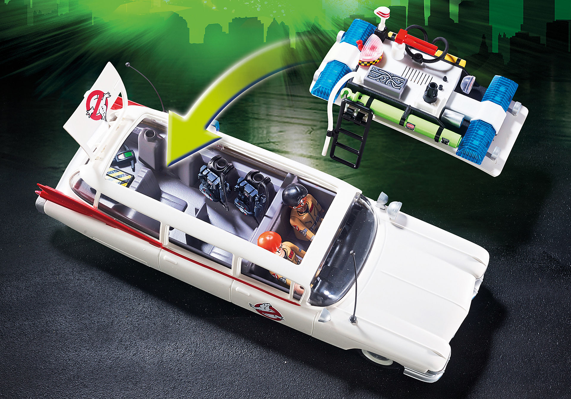 9220 Ecto-1 Ghostbusters zoom image6