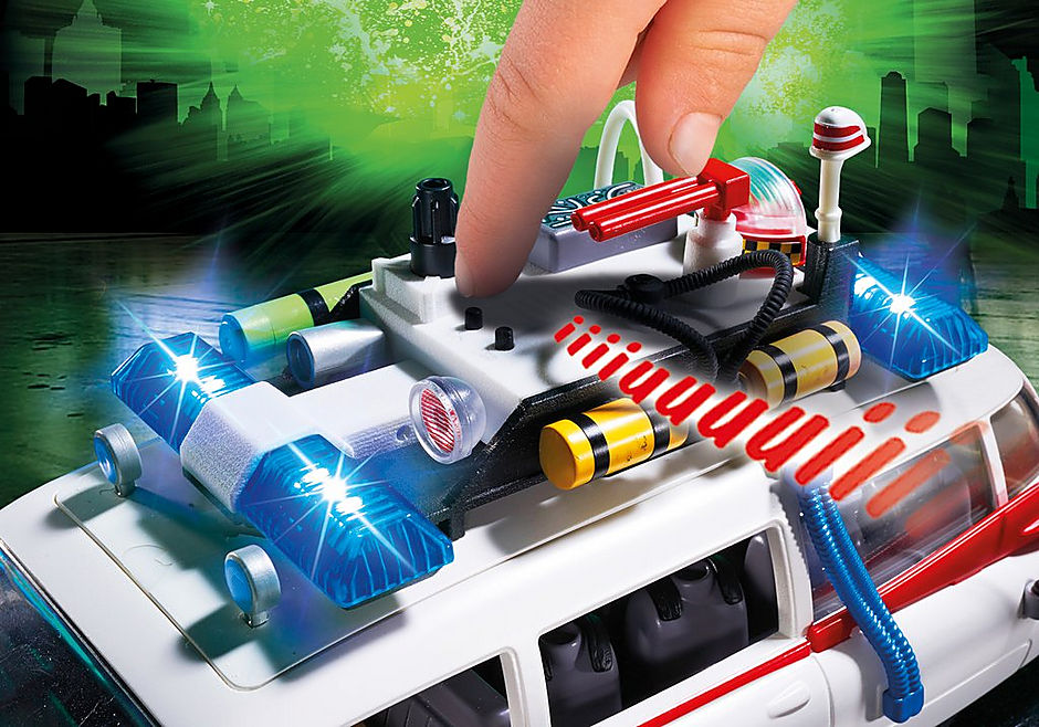 9220 Ecto-1 Ghostbusters detail image 7