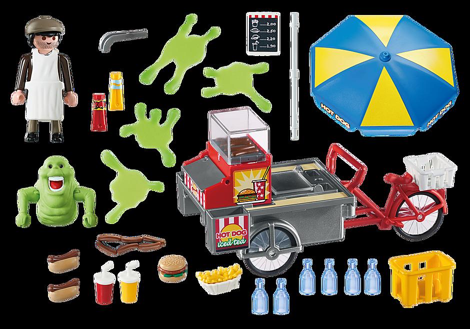 9222 Slimer en hotdogkraam detail image 4