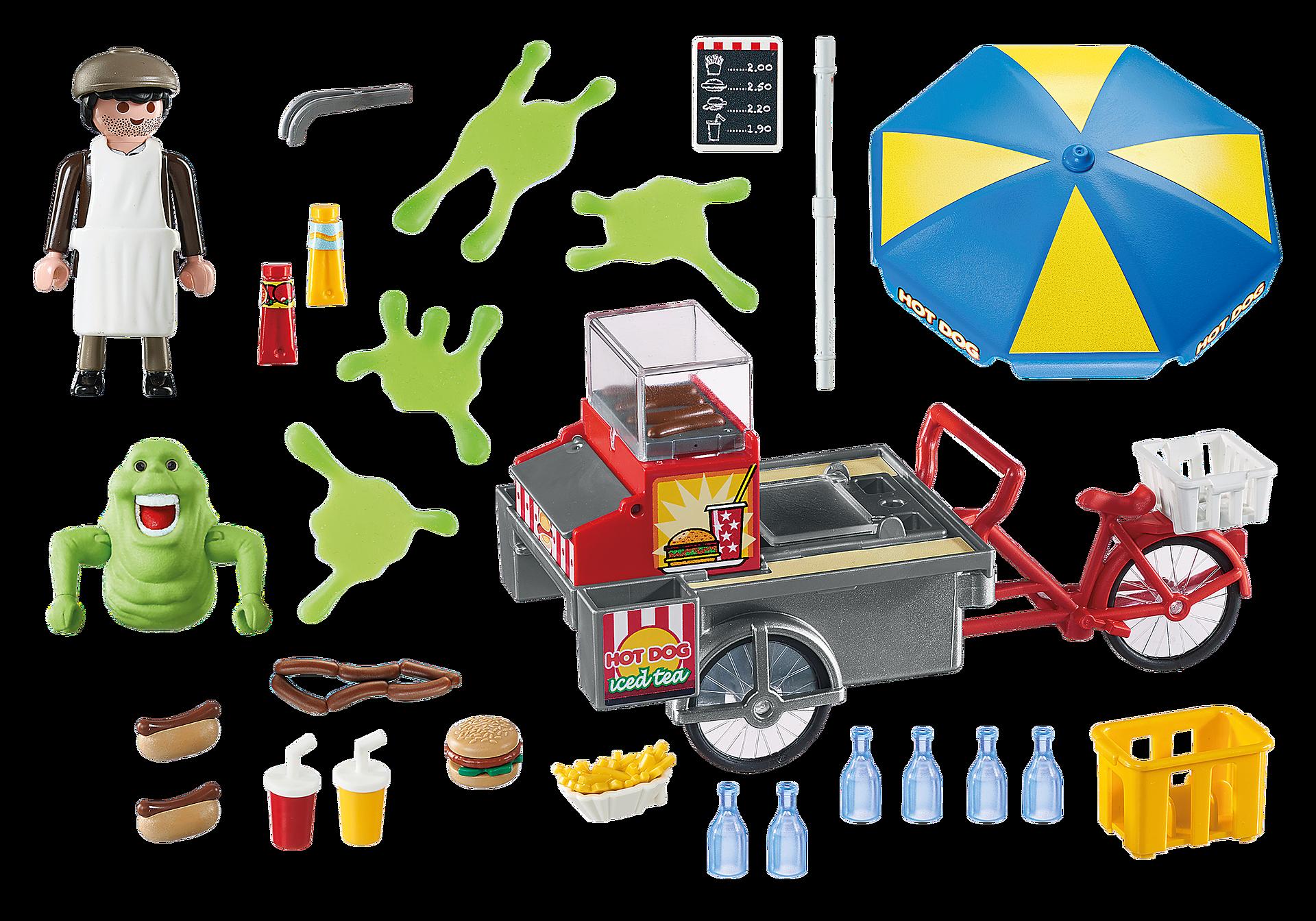 9222 Slimer en hotdogkraam zoom image4