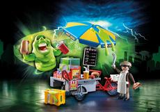 Playmobil Slimer With Hot Dog Stand 9222