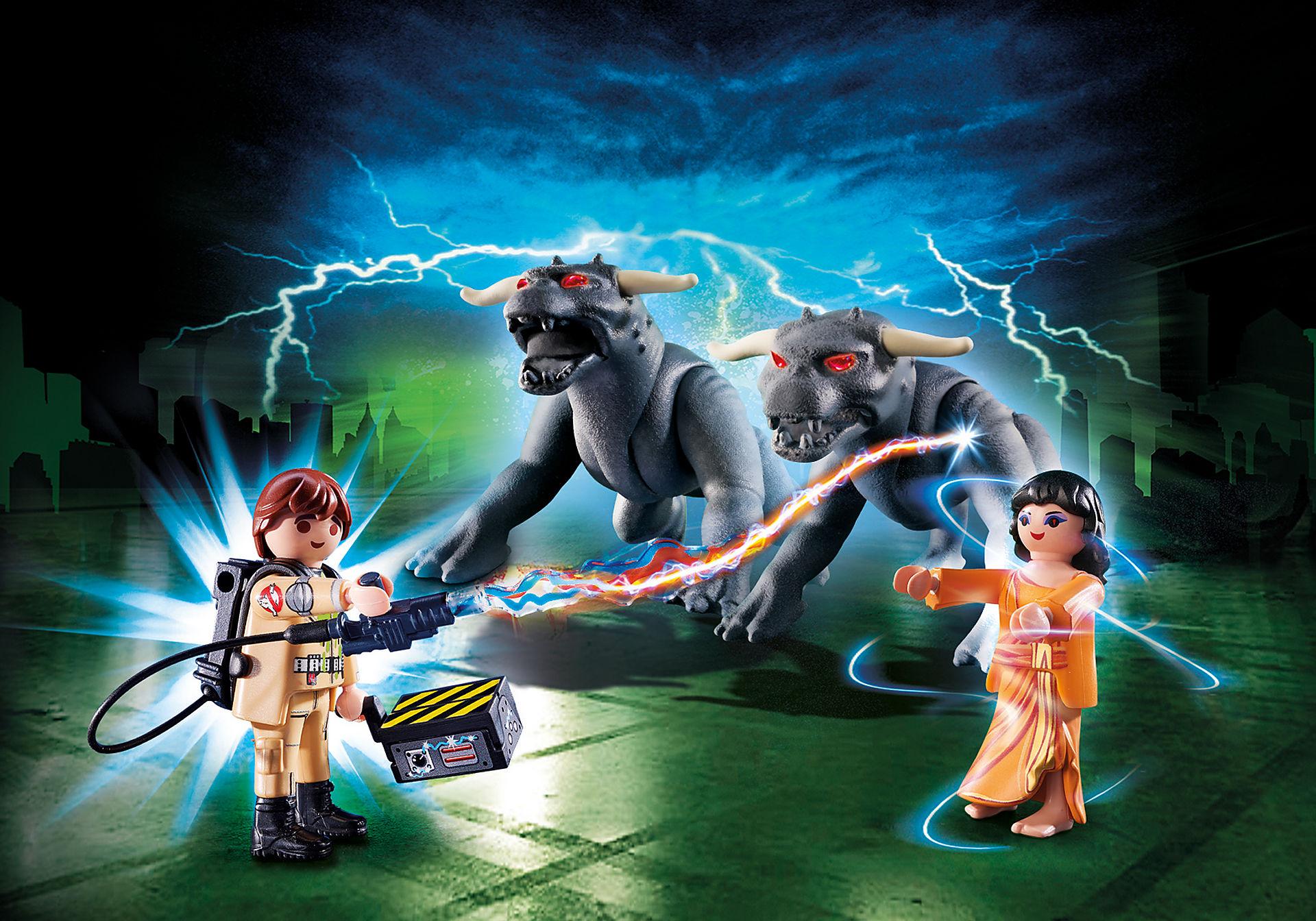 http://media.playmobil.com/i/playmobil/9223_product_detail/Venkman, Dana y Perros de Gozer
