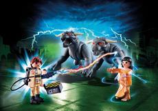 Playmobil Venkman And Terror Dogs 9223
