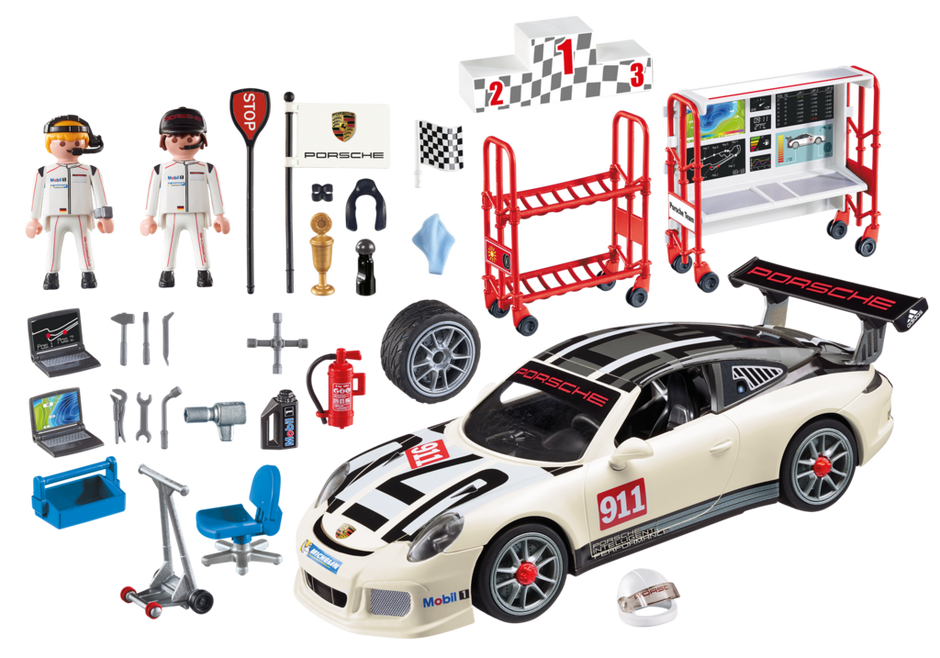 porsche 911 gt3 cup 9225 playmobil deutschland. Black Bedroom Furniture Sets. Home Design Ideas