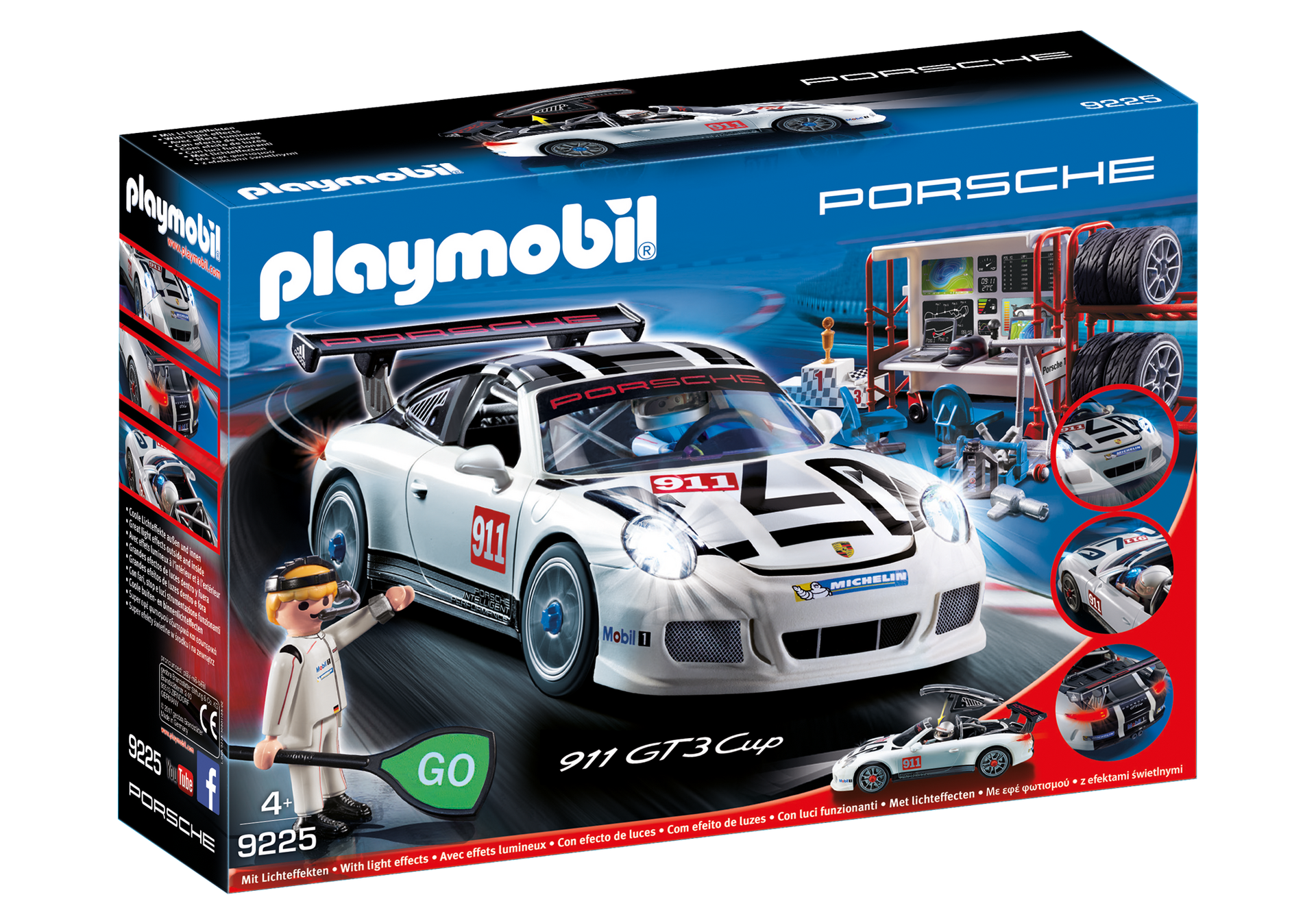 Porsche 911 Gt3 Cup 9225 Playmobil Northern Europe Finland