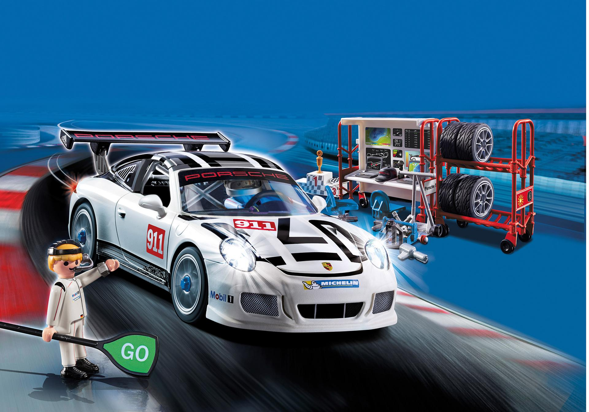porsche 911 gt3 cup 9225 playmobil. Black Bedroom Furniture Sets. Home Design Ideas