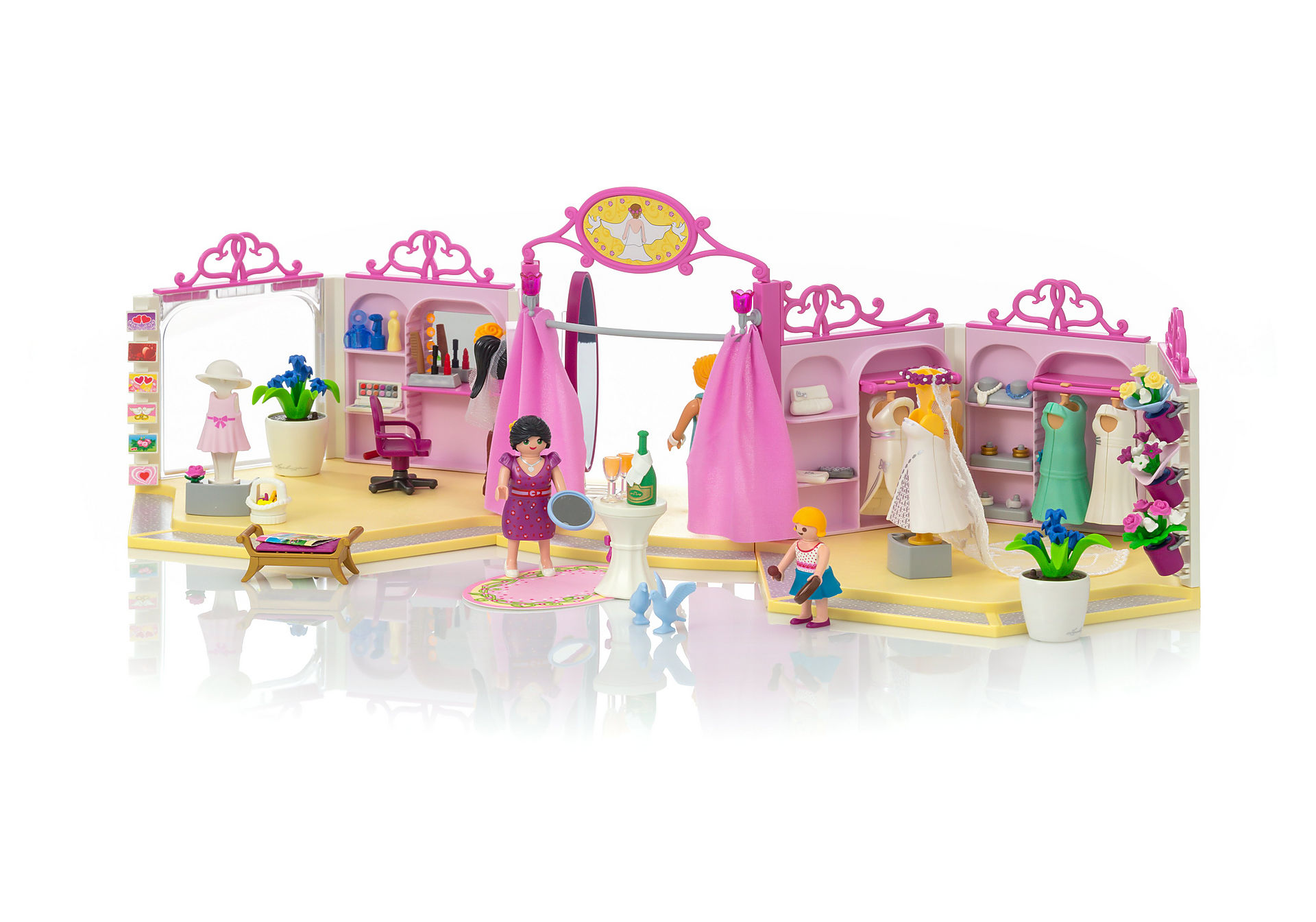 Cabine D Essayage Dimension boutique robes de mariée - 9226 - playmobil® france