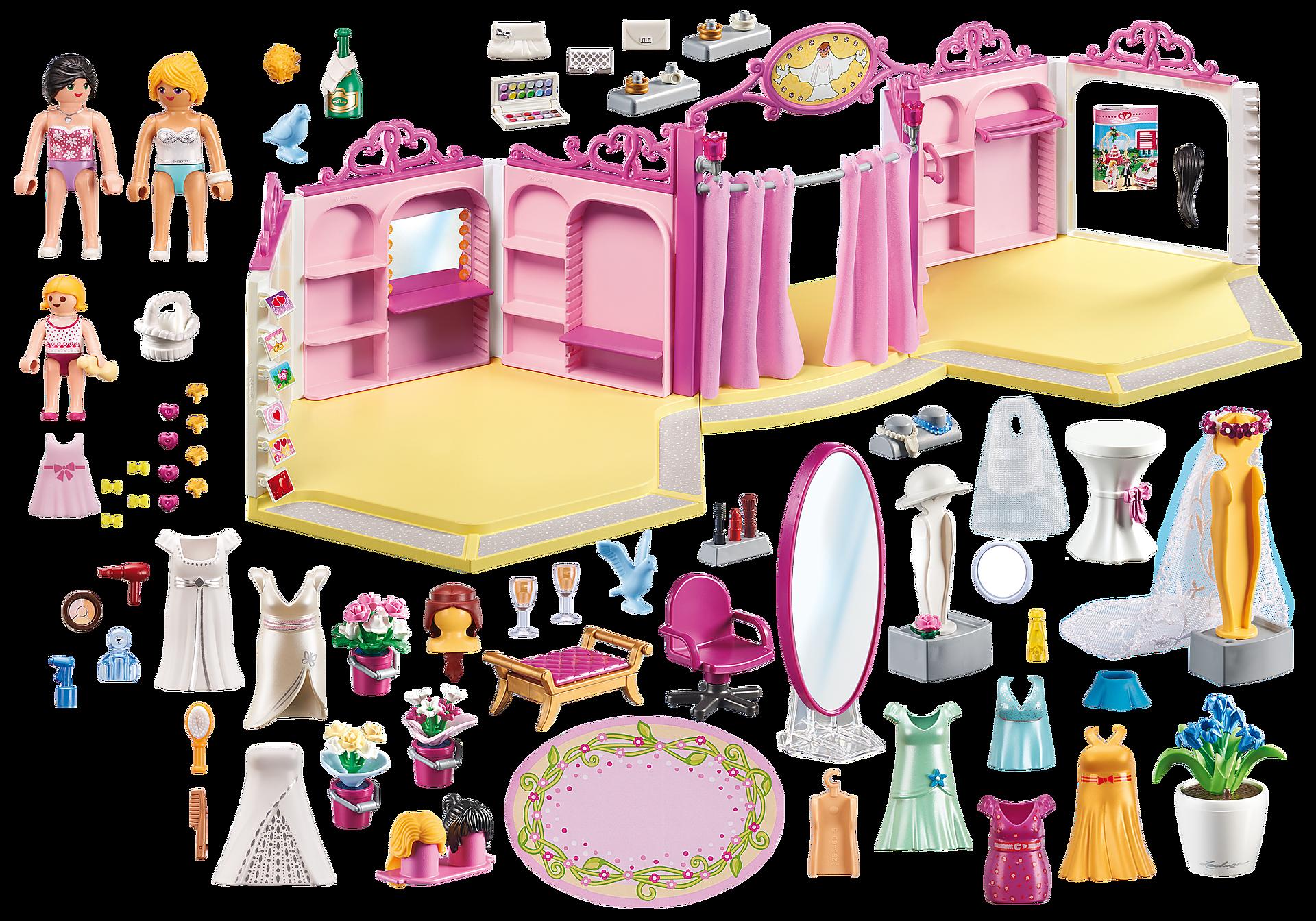 http://media.playmobil.com/i/playmobil/9226_product_box_back/Brautmodengeschäft mit Salon