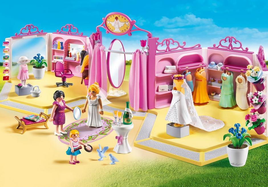 brautmodengeschäft mit salon  9226  playmobil® deutschland