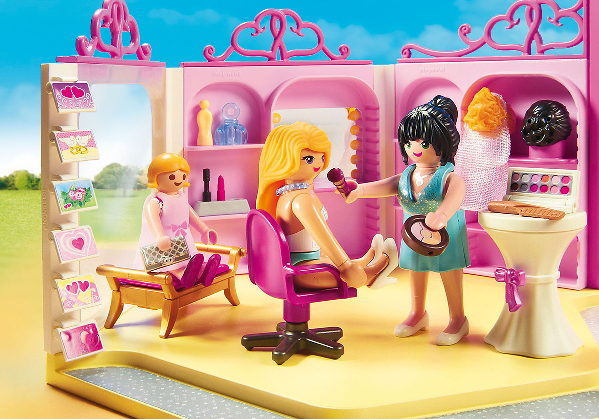 http://media.playmobil.com/i/playmobil/9226_product_extra1/Brautmodengeschäft mit Salon