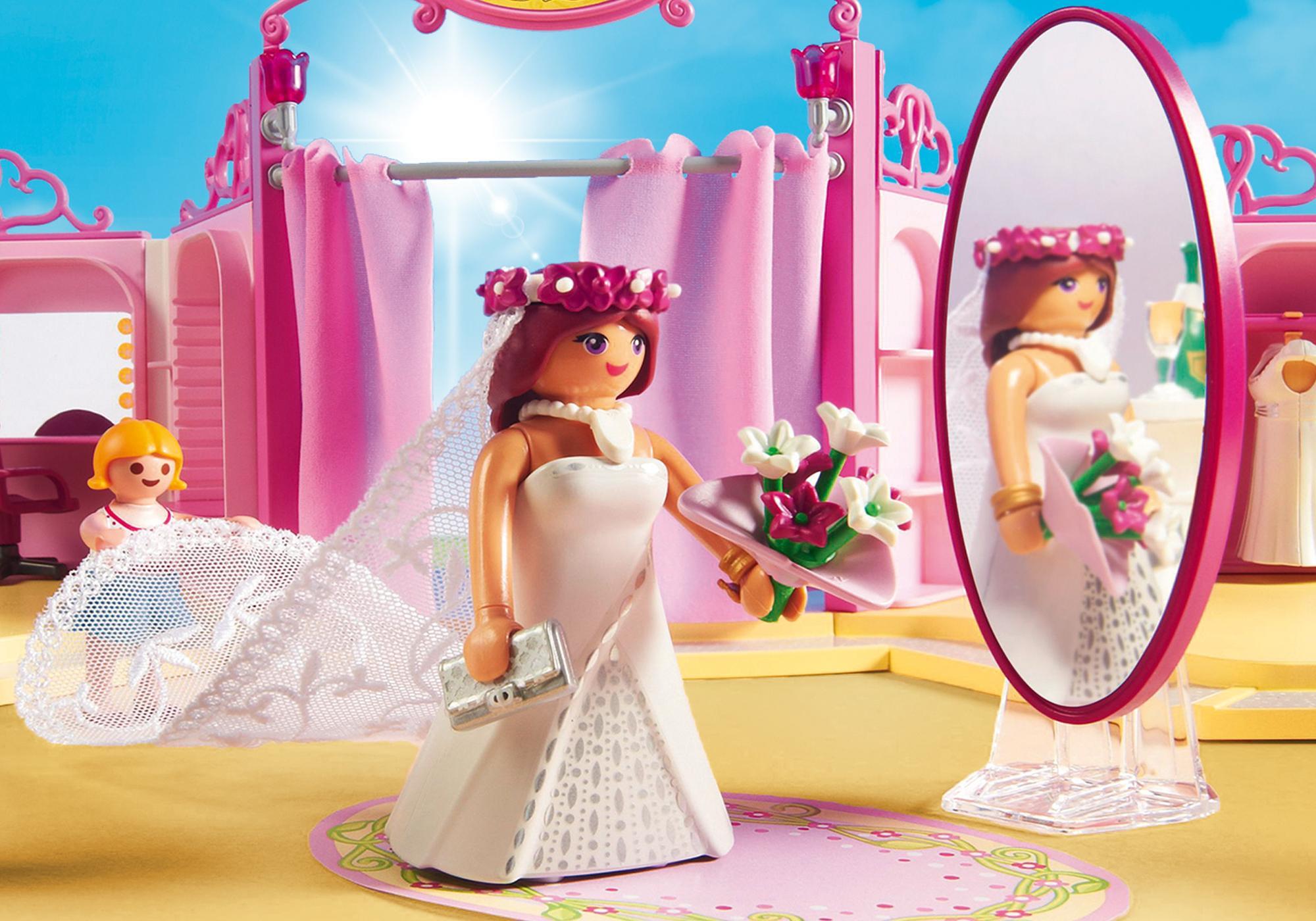 http://media.playmobil.com/i/playmobil/9226_product_extra2/Κατάστημα νυφικών με σαλόνι ομορφιάς