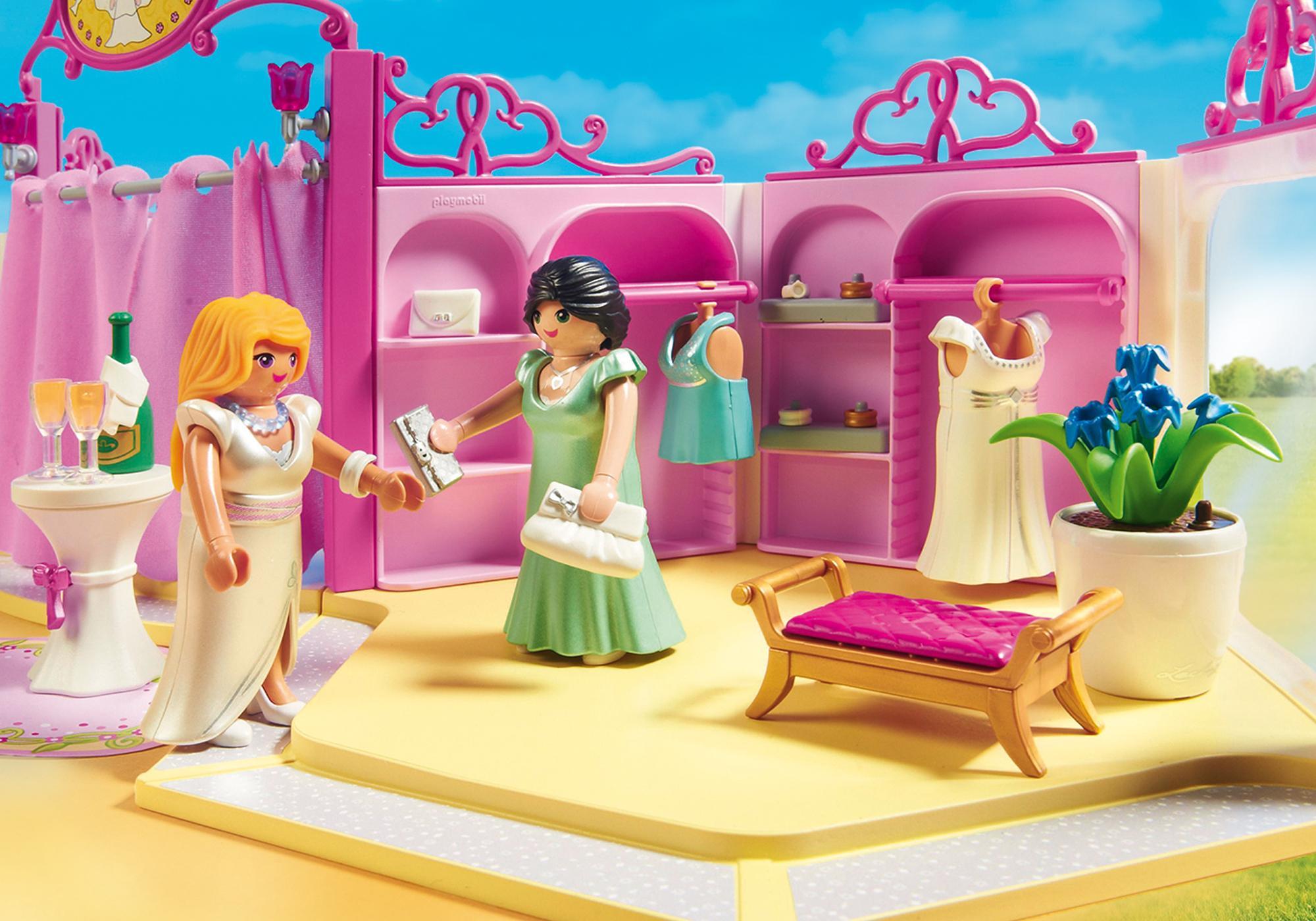 http://media.playmobil.com/i/playmobil/9226_product_extra3/Κατάστημα νυφικών με σαλόνι ομορφιάς