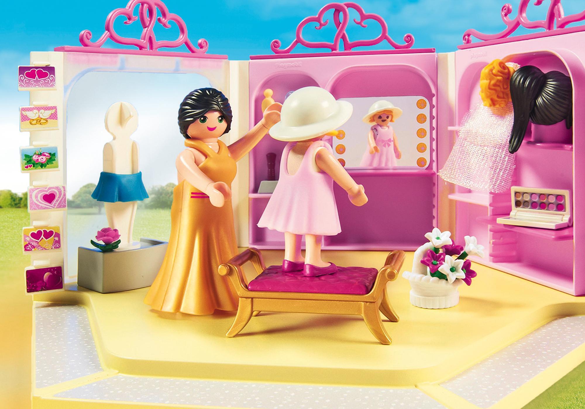 http://media.playmobil.com/i/playmobil/9226_product_extra4/Κατάστημα νυφικών με σαλόνι ομορφιάς