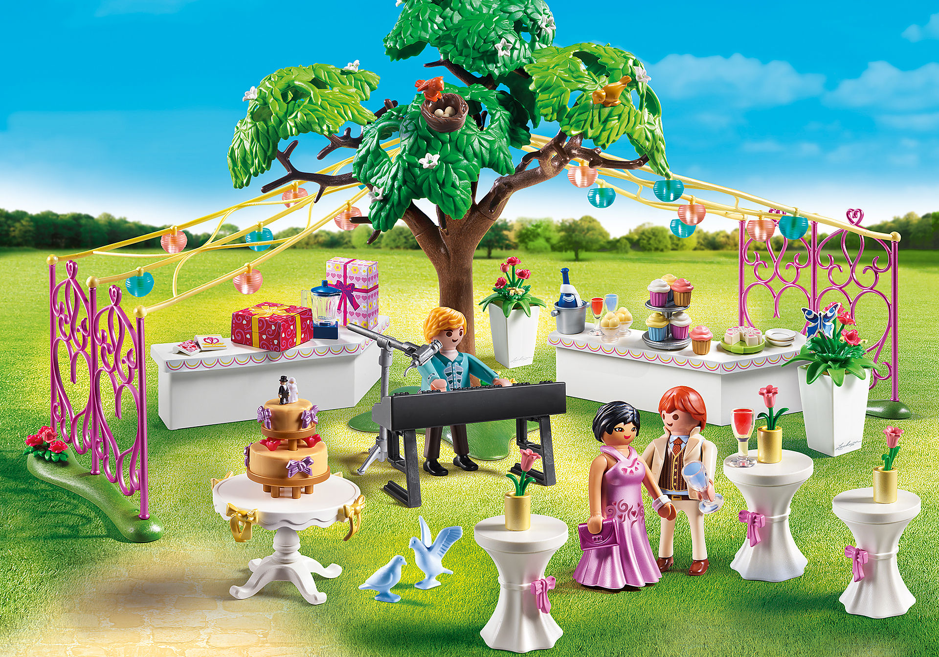 http://media.playmobil.com/i/playmobil/9228_product_detail/Banquete do Casamento