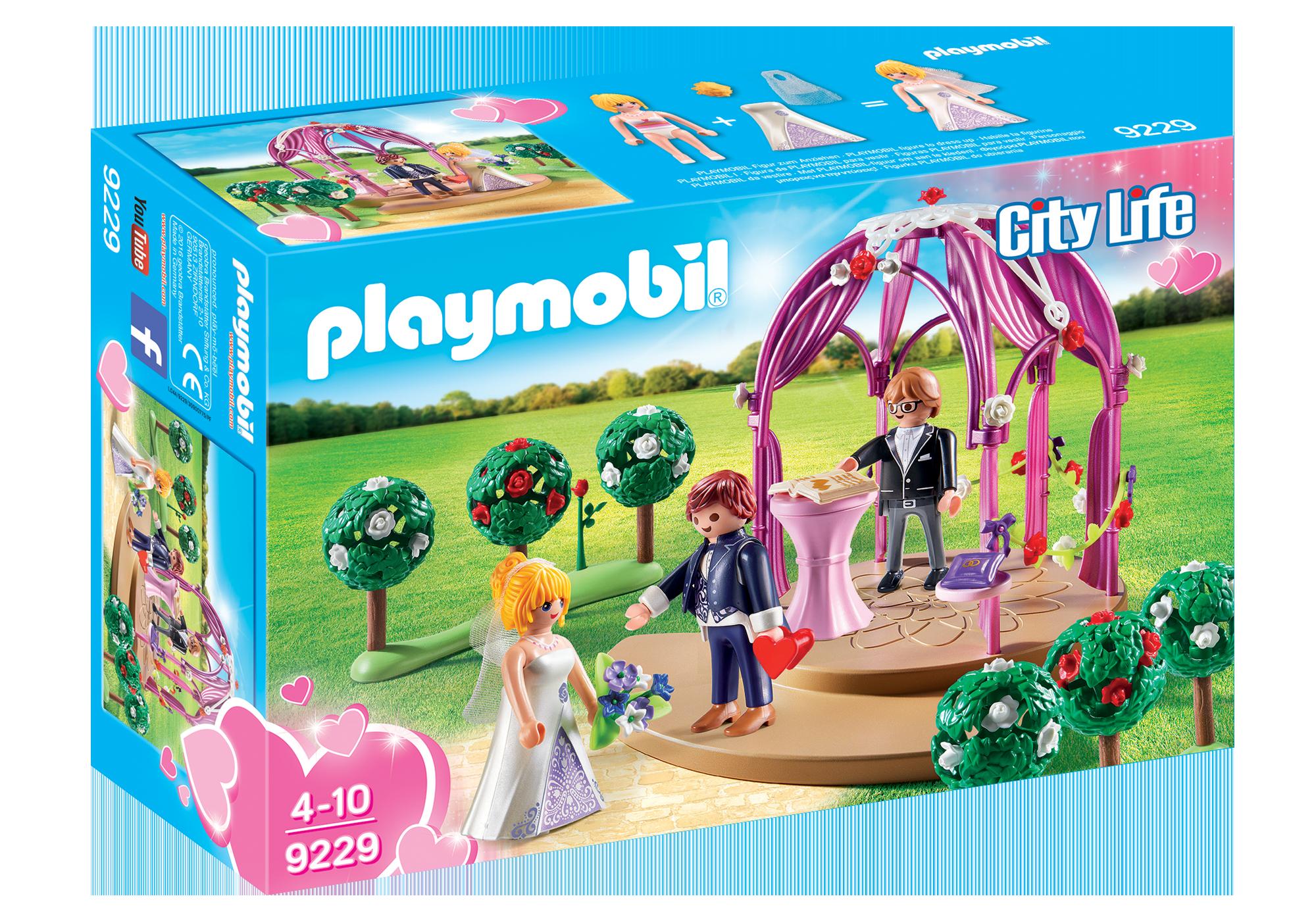 http://media.playmobil.com/i/playmobil/9229_product_box_front/Pawilon ślubny z nowożeńcami