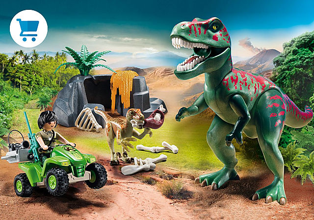 9231_product_detail/Tiranosaurus Rex con Explorador