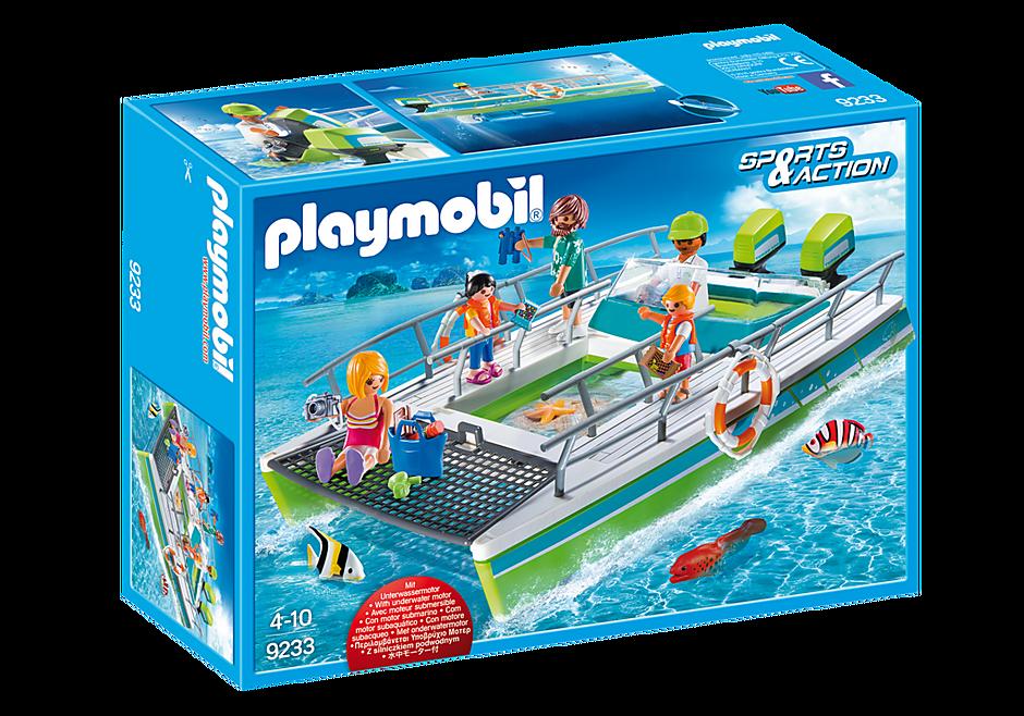 http://media.playmobil.com/i/playmobil/9233_product_box_front/Catamaran à fond de verre avec moteur submersible