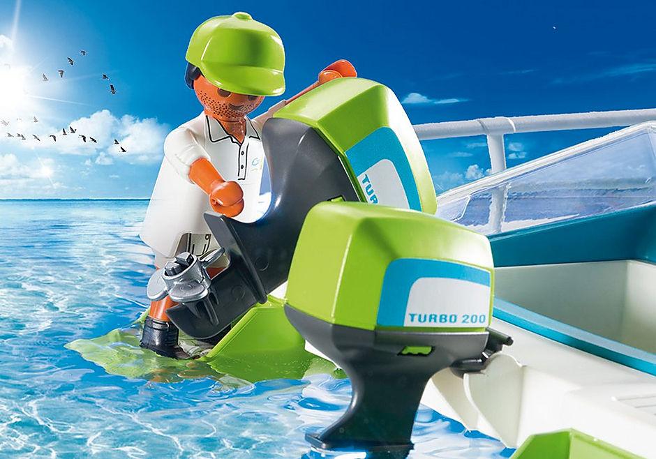 9233 Glasbodenboot mit Unterwassermotor detail image 5