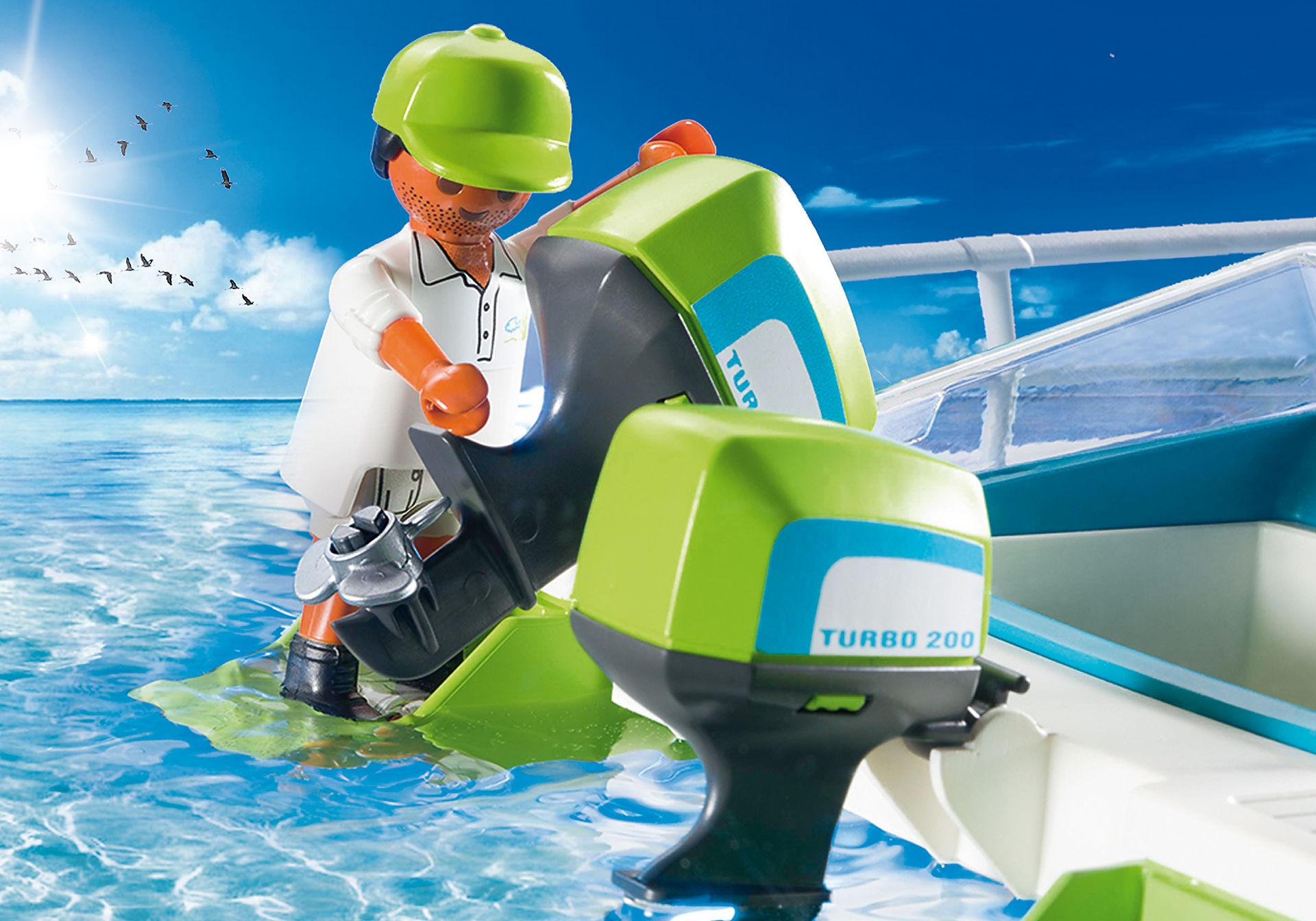 9233 Glasbodenboot mit Unterwassermotor zoom image5