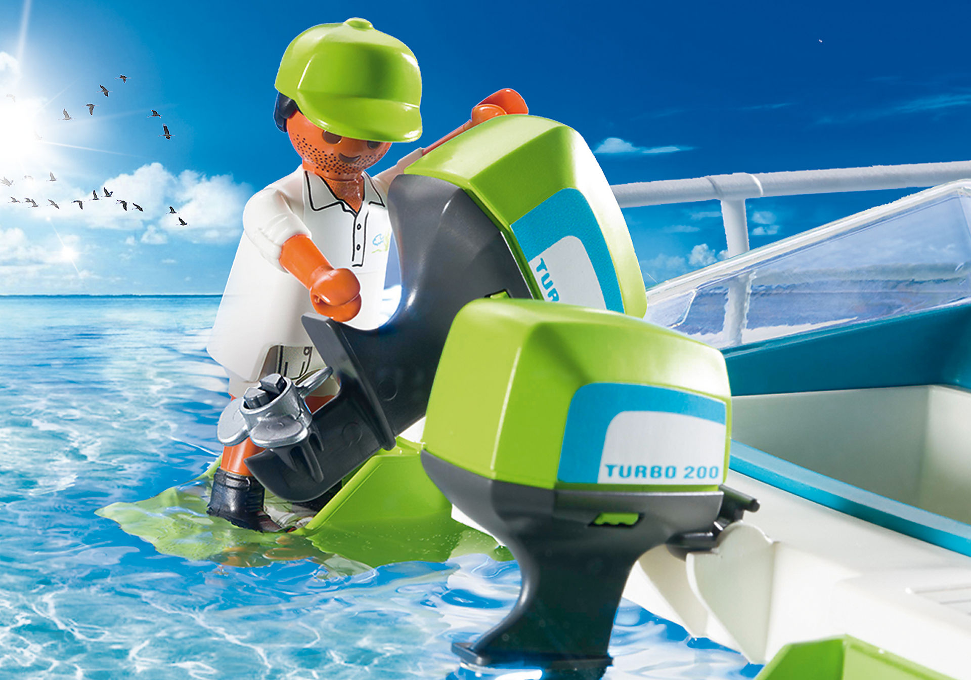 http://media.playmobil.com/i/playmobil/9233_product_extra1/Glass-Bottom Boat with Underwater Motor